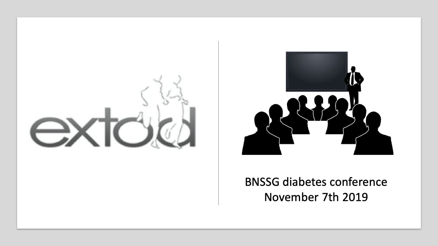 BNSSG diabetes conference november 7th 2019